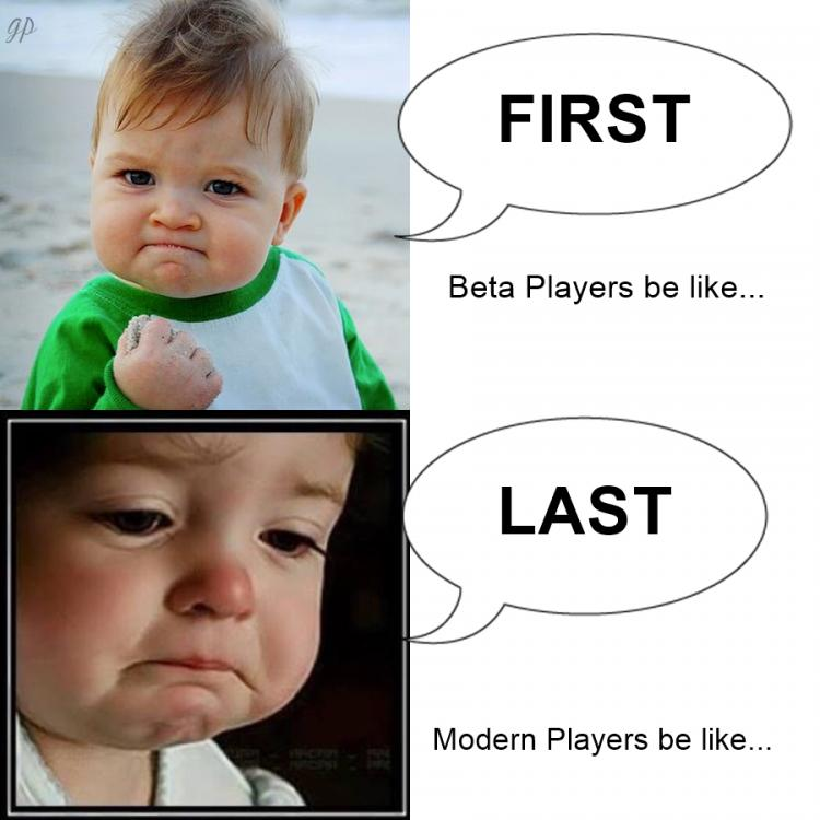 FIRST LAST meme BABY FIST BOUT TO CRY