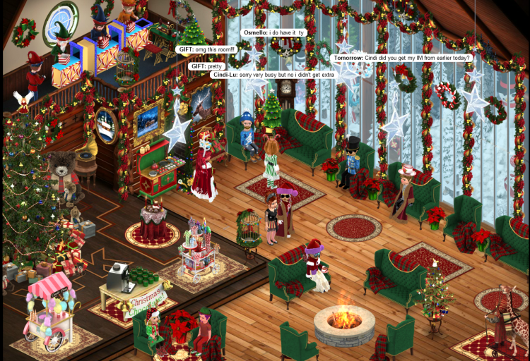 Pretty Room - MRS CLAUS RIDE EVENT