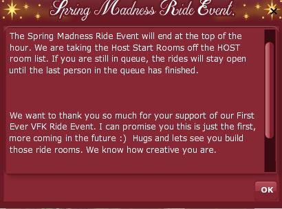 2019 2009 RETRO ANNIVERSARY - Spring Madness Ride Event pop up 2