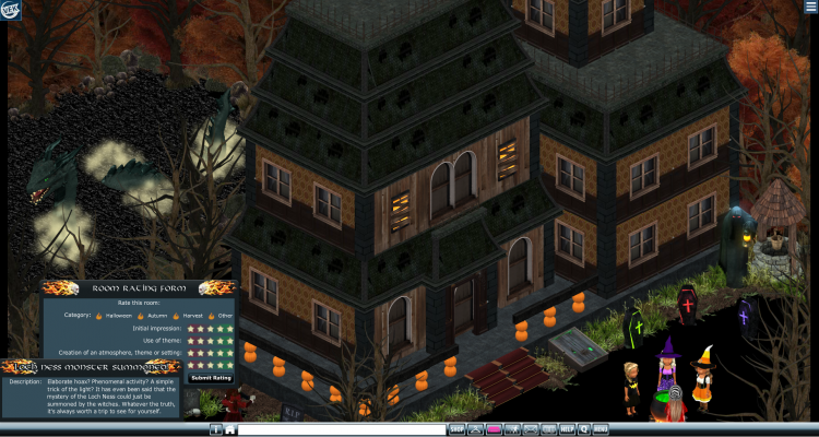 2019 HALLOWEEN BUILDING COMPETITION -- LOCH NESS SUMMON