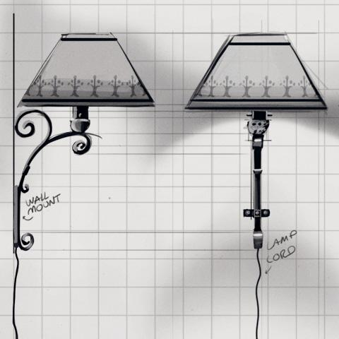 missclue_walllamp_sketch
