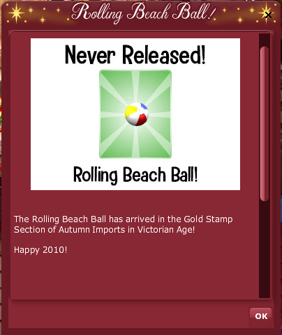 2019 2010 VFK RETRO COUNTDOWN - Gold Stamp Pop Up