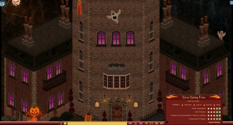 2019 HALLOWEEN BUILDING COMPETITION -- RANDOM MANOR