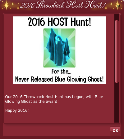 2019 2016 Retro VFK Countdown - HOST HUNT POP UP