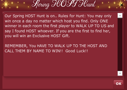 2019 BETA ANNIVERSARY - Old Fashioned Host Hunt Rules 2