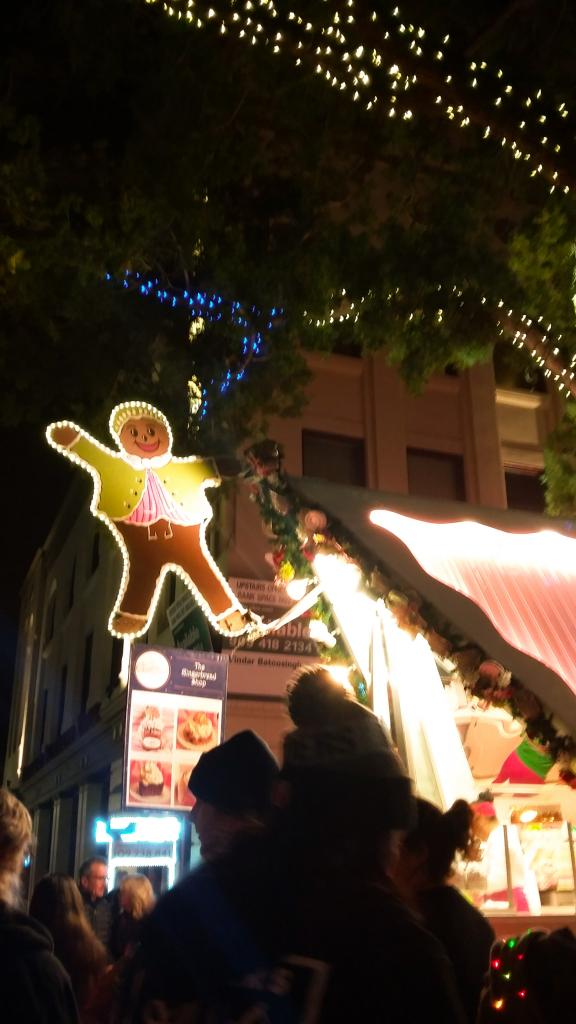 Gingerbread Shop Stand I Saw In Real 3