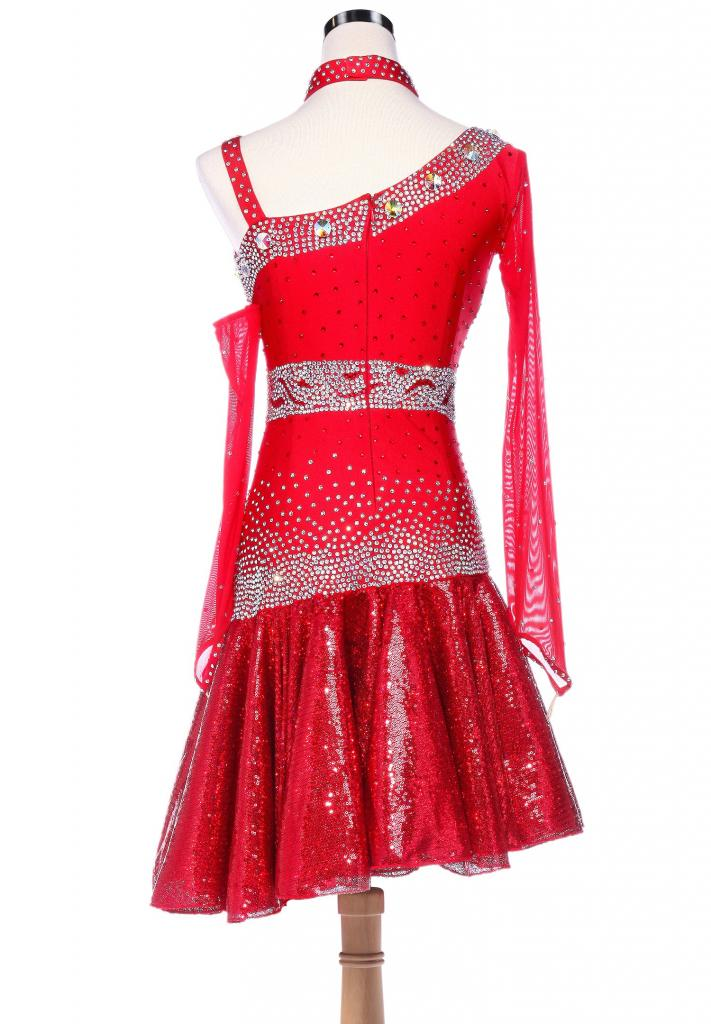 Fiery-Sparkle-Sequined-Hem-Asymmetrical-Latin-Dance-Dress-L5228-1b