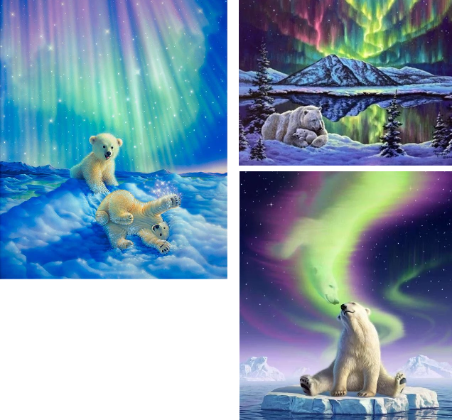 northernlightspolarbearpaintings