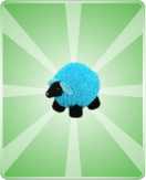 Plush Sheepblue