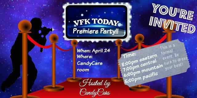 VFK Today premiere invite