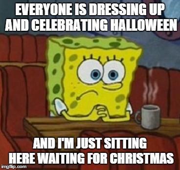 spongebob Christmas MEME
