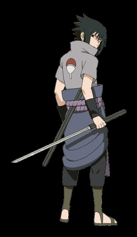 Sasuke back