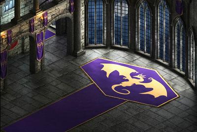 Dragon Castle Throne Room