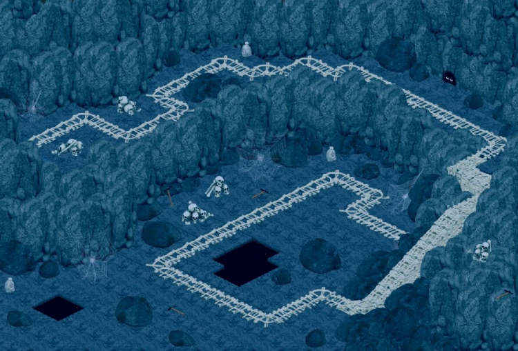 Cold Mountian Crypt  (Cave II)