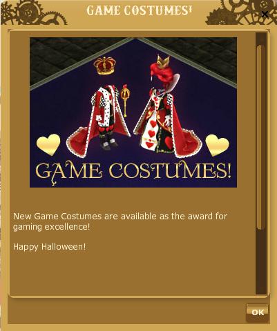 Phantastic Enchantment GAME COSTUME