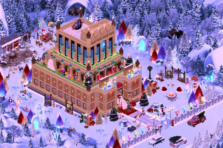 Santa's Winter Wonderland