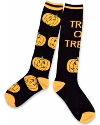 teehee-halloween-socks-skull-mummy-pumpkin-womens-knee-high-2-pack