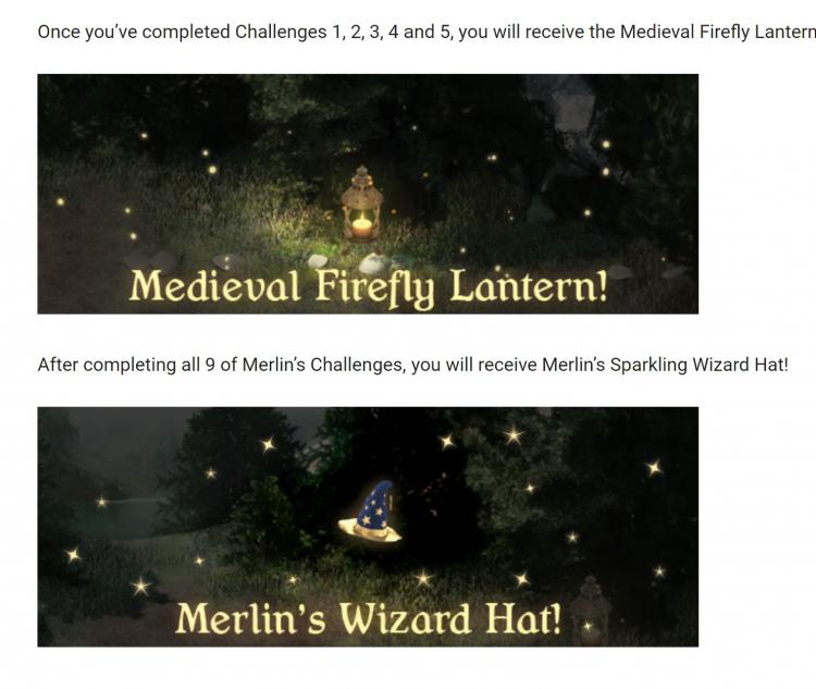 Merlin Challenge Wizard Hat