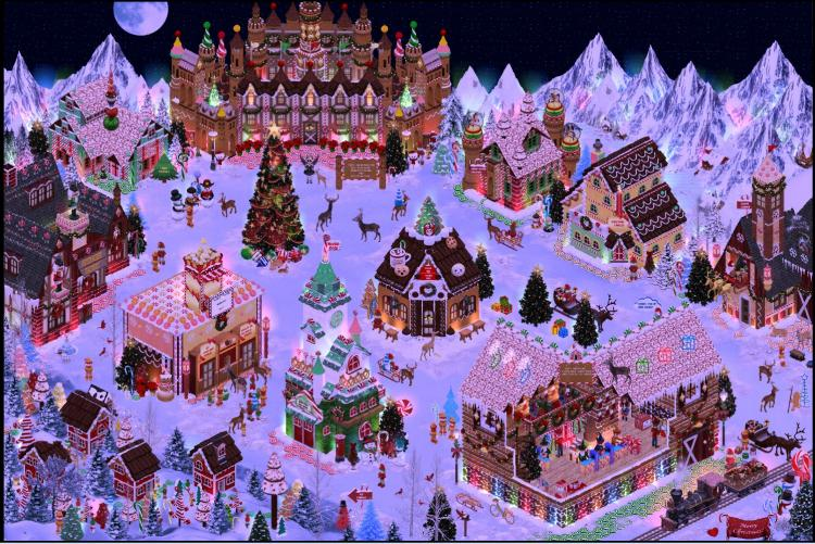 North Pole Village - amazing room