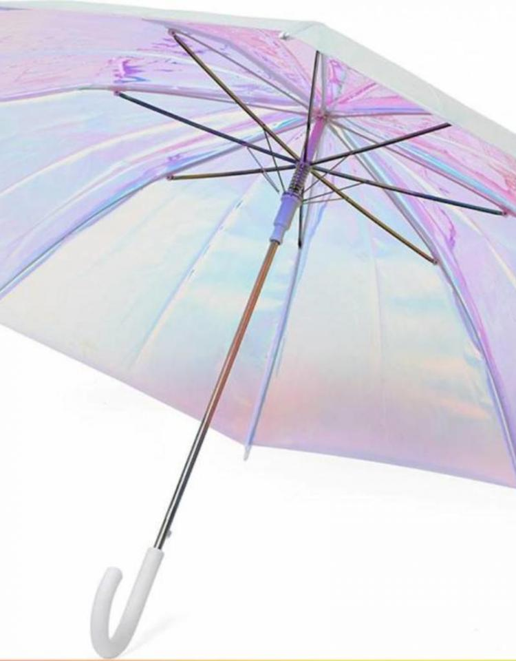 holographic-umbrella-white