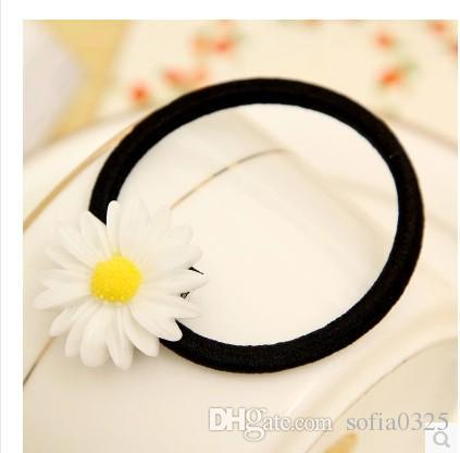 new-daisy-hair-rubber-bands-multiple-use