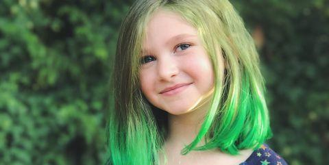 portrait-of-smiling-cute-girl-royalty-free-image-878214682-1539617228 (green hair color the won on the right  the little girl tips)