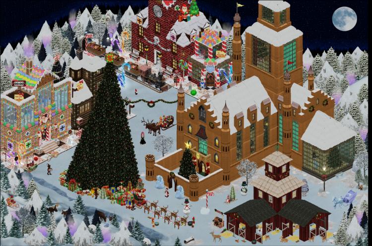 Santa's North Pole Village